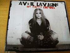 AVRIL LAVIGNE MY HAPPY ENDING CD SINGOLO MINT--- 4 TRACKS + 1 VIDEO
