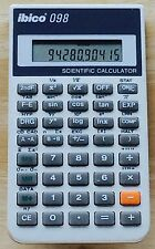 Vintage Ibico 098 Scientific & Statistical Calculator - Works