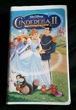 WALT DISNEY VHS TAPE - CINDERELLA II DREAMS COME TRUE