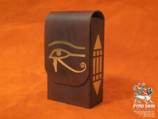 """""""Eye of the Horus"""" leather bag for Tarot or any magical accessories"""