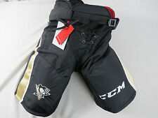 New! CCM CL Pittsburgh Penguins NHL Pro Stock Return Team Hockey Player Pants XL