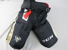 New! CCM CL Pittsburgh Penguins NHL Pro Stock Return Hockey Player Pants M +1""