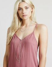 Free People Exaggerated Waterfalls Necklace Retails $88.00 Sold Out Rare NWT