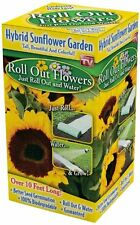 Roll Out Flowers Sunflower Garden Seed Flowering Plant, New