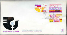 Netherlands Antilles 1975 Int. Womens Year FDC First Day Cover #C26654
