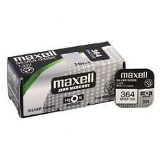 1 PILA BOTON MAXELL 364 - SR621SW - AG1 - V364 1,55 Volt Knopfzellen Battery