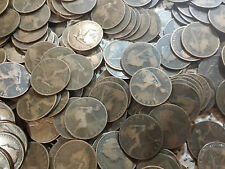 100 Victoria Pennies dated 1895 1896 1897 1898 1899 1900 1901 bulk lot 100 coins