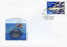 Slovenia 2016 FDC Fish of Mediterranean EUROMED Postal 1v Cover Fishes Stamps