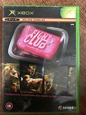 Microsoft  - FIGHT CLUB ~ Beat 'Em Up ~ XBox Game Based on Film