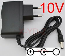 AC/DC 10V 1A Switching Power Supply adapter Reverse Polarity Negative Inside EU