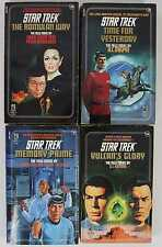 Star Trek 1987-1989 #35 #39 #42 #44 Paperback Lot of 4, 1st Editions