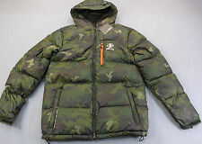 RLX RALPH LAUREN Men MILITARY CAMO DOWN RIPSTOP QUILTED JACKET HOOD NWT  LT $450