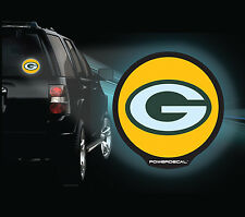 Green Bay Packers NFL LED Backlit PowerDecal - Motion and Light Activated!
