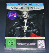 SNOW WHITE & THE HUNTSMAN EXTENDED EDITION BLU RAY STEELBOOK EDITION NEU & OVP
