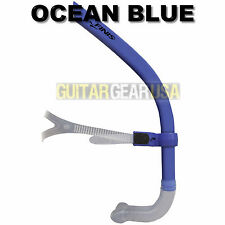 FINIS GLIDE SNORKEL - Introductory Center Mount Snorkel - OCEAN BLUE