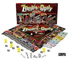 Zombie-Opoly Board Game, New, Free Shipping