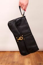 Oversize 2 in 1 BLACK & GOLD MISS SIXTY Pochette Borsa a tracolla