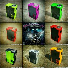 MINUTO V2 26650/18650 SQUONK 3D Mod Box Your Choice of Colors