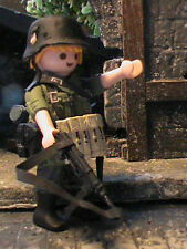 PLAYMOBIL CUSTOM SUBOFICIAL 14 INF.DIVISION  (LUBLIN POLONIA-1939) REF-0508  BIS