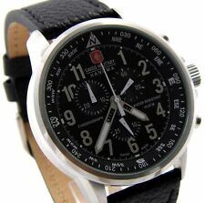 SWISS MILITARY HANOWA 06-4297.04.007 XXL 46mm CHRONOGRAPH UHR ARROW CLASSIC NEU