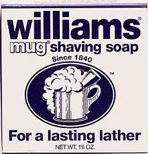 Williams Mug Shaving Soap - 1.75 oz: PACK OF 6