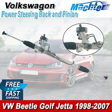 VOLKSWAGEN VW Power Steering Rack and Pinion Complete Jetta Beetle Golf 99-07