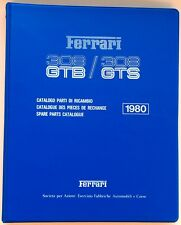 Ferrari 1980, 308 GTB/GTS Parts Book # 95990229 Algar Ferrari On Sale Now !!!