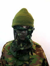 TACTICAL SCRIM NET MILITARY SCARF COMBAT FACE VEIL BW ARMY CAMO BANDANNA SCARF