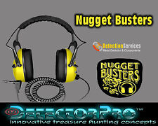 Detectorpro Nugget Buster Headphones for metal detectors 150 oHms professional