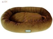 "Aeromark Large Dog Bed in Brown  D02CZS-L ,  43""L x 31""W x 7""H New"