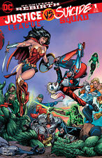 Justice League vs Suicide Squad 1 BART SEARS, HARLEY QUINN WONDER WOMAN LTD 3000
