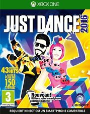 JUST DANCE 2016         --  NEUF  -----   pour X-BOX ONE