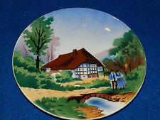 ASSIETTE plate ALTE TELLER VILLEROY & BOCH 2638 D made in SAAR BASIN haus