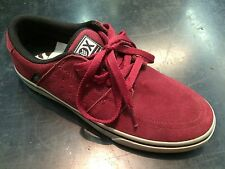 Skateboarding Shoe Vox Corpsey Maroon/Grey Size 10.5