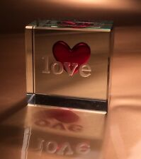 Spaceform Love Glass Token Romantic Gifts Ideas for her & him 0333
