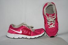Nike Dual Fusion ST 2 Youth Girl Sneaker Size 6 Y Pink White Tennis Shoes