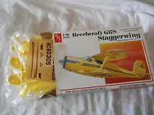 1/48 scale: AMT 1/48 Beechcraft G-17S, Made in USA
