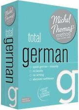 Total German with the Michel Thomas Method by Michel Thomas (2012, CD,...