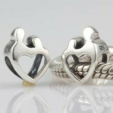 MUM MOTHER CHILD BABY 925 sterling silver charm bead fits european bracelets
