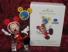 HALLMARK 2011 MICKEY MOUSE CLUBHOUSE DISNEY ORNAMENT~MICKEY & TOOLES IN SPACE
