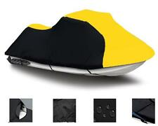 """YELLOW Jet Ski PWC Cover for 3 seater jet ski from 120""""-129"""" in Length"""
