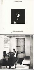 CD Leonard COHEN Songs From A Room | Mini LP REPLICA CARD SLEEVE | 10-TRACK CD