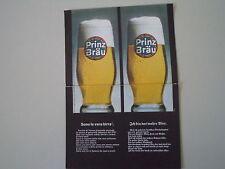 advertising Pubblicità 1966 BIRRA PRINZ BRAU