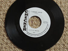 LITTLE MACK - I NEED LOVE (R&B Jiver) b/w THE KNIGHT BROS. - LOVE (Screamin Soul