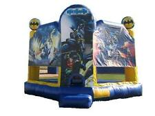 Jumping Castle TOY BATMAN Jumping Castles Party Event Children *HIRE ONLY*