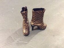 """Tonner Tyler Wentworth Casual Luxury BROWN ANKLE BOOTS 16"""" Doll Fashion Shoes"""