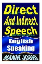 English Daily Use: Direct and Indirect Speech : English Speaking by Manik...