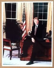 president bill clinton signed autograph 11x14 in Oval Office Hillary JSA COA LOA