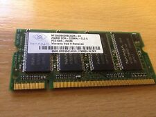 256MB Nanya PC2700S 333mhz DDR RAM Laptop Memory Stick SODIMM