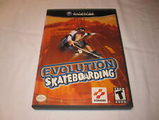 Evolution Skateboarding (Nintendo GameCube) Game in Case Excellent!